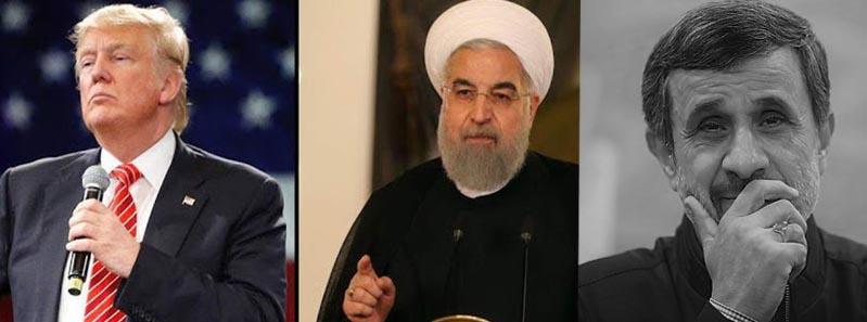 احمدینژاد روحانی ترامپ